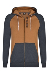 Animal Hoody Full Zip Indigo Marl