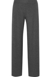 Bailey 44 Stretch Jersey Wide Leg Pants Gray