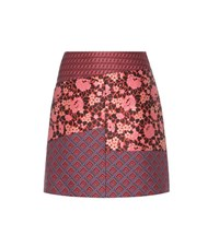 Etro Jacquard Miniskirt Multicoloured