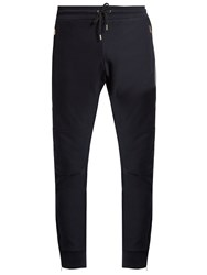 Paul Smith Zip Cuff Cotton Jersey Track Pants Navy