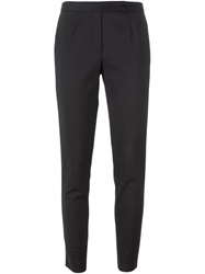 Cnc Costume National Costume National Cropped Skinny Trousers Black