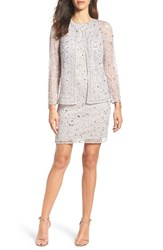 Pisarro Nights Women's Embellished Dress And Jacket