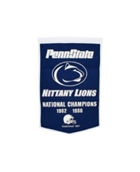 Winning Streak Penn State Nittany Lions Dynasty Banner Team Color