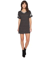 Alternative Apparel Powder Puff Dress Eco Black Eco Grey