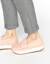 Whistles Blonde Flatform Trainers