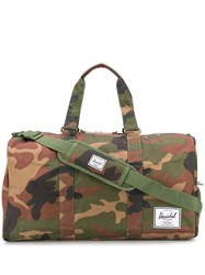 Herschel Supply Co. Novel Duffle Camouflage Print Bag Green