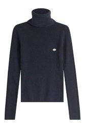 See By Chloe See By Chloe Turtleneck With Wool And Cashmere Blue