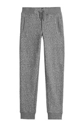 Woolrich Cotton Sweatpants With Wool Grey