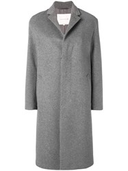 Mackintosh 0001 Single Breasted Coat Grey