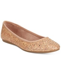 Styleandco. Style And Co. Angelynn Flats Women's Shoes Cork Tan