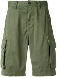 Deus Ex Machina Double Pocket Cargo Shorts Green