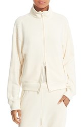 Vince Women's Track Jacket Off White
