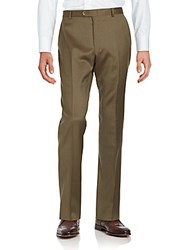 Hickey Freeman M Series Dress Pants Brown