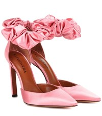 Altuzarra George Satin Pumps Pink
