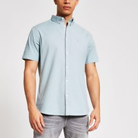 River Island Maison Riviera Green Oxford Shirt