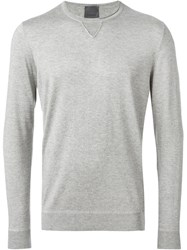 Laneus Crew Neck Sweatshirt Grey