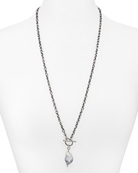 Chan Luu Cultured Freshwater Pearl Pendant Necklace 29 Gray