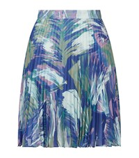 Reiss Nettle Pleated Skirt Female Lilac