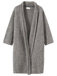 Toast Boiled Wool Mouline Coat Natural
