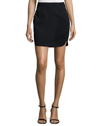 Halston Fitted Mini Skirt Black