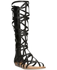Fergalicious Graceful Tall Gladiator Sandals Women's Shoes Black