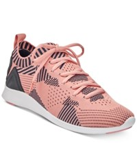 Ideology Mattyy Lace Up Sneakers Created For Macy's Women's Shoes Soft Coral