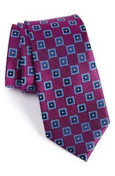 Nordstrom Men's Men's Shop Net Grid Silk Tie