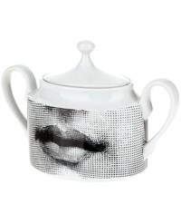 Fornasetti Porcelain Tea Pot White