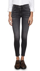 Edwin Pixie High Rise Skinny Jeans Black Orchid