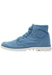 Palladium Pampa Laceup Boots Coronet Silver Birch Light Blue