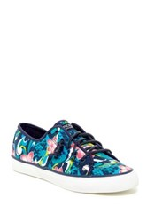 Sperry Seacoast Floral Sneaker Blue