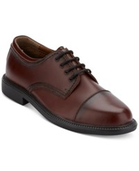 Dockers Men's Gordon Cap Toe Oxford Men's Shoes Cordovan