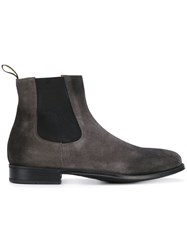 Doucal's Almond Toe Chelsea Boots Grey
