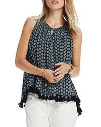 Scotch And Soda Printed Tassel Boho Tank Combo D