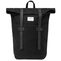 Sandqvist Stig Rolltop Backpack Black