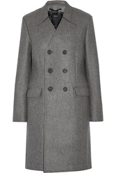 Joseph Double Breasted Boiled Wool Coat