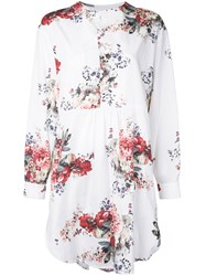 Antonio Marras Floral Print Tunic White