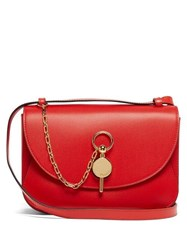 Jw Anderson Keyts Leather Cross Body Bag Red