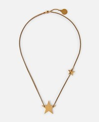 Stella Mccartney Yellow Star Necklace