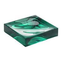 Kartell Square Soap Dish Aquamarine Green
