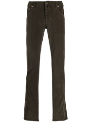 Jacob Cohen Ribbed Regular Fit Trousers 60