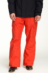 Quiksilver Porter Snow Pant Red