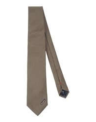 Moschino Accessories Ties Men Khaki