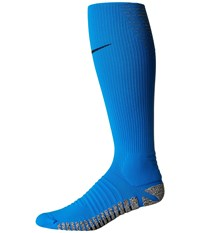 Nike Grip Strike Cushioned Otc Photo Blue Black Knee High Socks Shoes