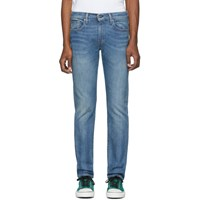 Levi's Levis Made And Crafted Blue 502 Regular Taper Jeans