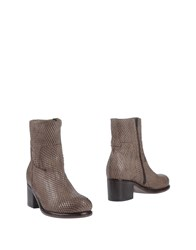 Moma Ankle Boots Light Brown