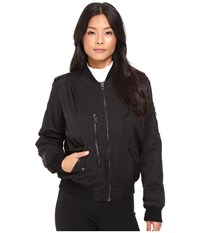 Blank Nyc Bomber Jacket In Commuter Sentence Black Women's Coat