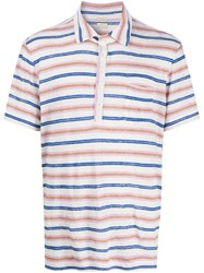 Massimo Alba Striped Polo Shirt 60