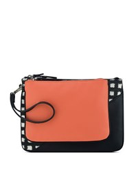 Nine West Table Treasure Duo Pouch Set Black Coral White