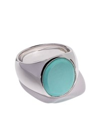 Tom Wood Oval Turquoise Ring Unavailable
